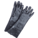 GLOVEMAN Cotton Interlock full coated black PVC gauntlet heavy rough safety water proof gloves