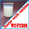 Low VOC acrylic latex paint and resin emulsion for plastic coating