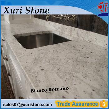 Counter Top Bianco Romano Granite Kitchen Countertop