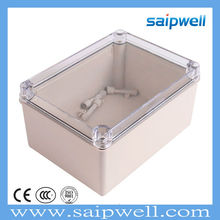 SAIP/SAIPWELL 150*200*100 Plastic Clear Cover IP66 Waterproof ABS Switch Enclosures