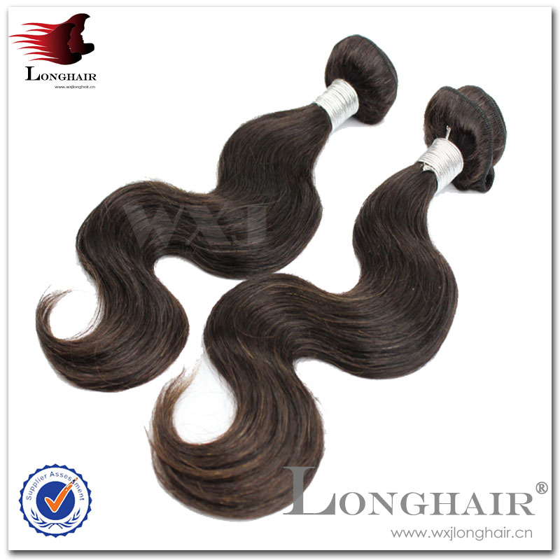 Natural color pure hair attachments
