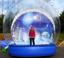 giant inflatable snow globe,inflatable christmas snow globes for sale