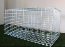 galvanized gabion welded wire mesh basket / stone gabion box / wire mesh stacking baskets