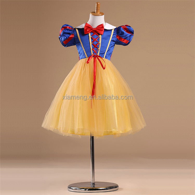 Fairy Tales Halloween Cosplay party Snow White Dress Costume