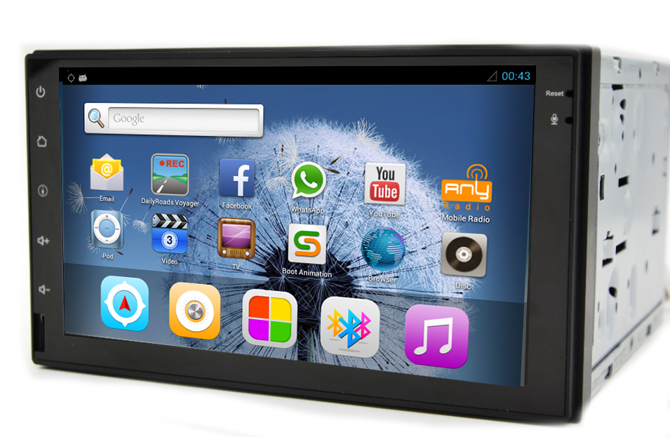 buy 2 din android 4 2 2 car radio gps for. Black Bedroom Furniture Sets. Home Design Ideas