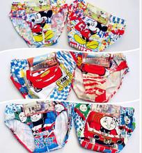 Wholesale 4pcs/lot new baby children underwears famous cartoon character Underewears,Kids Underwear,boy's underwear