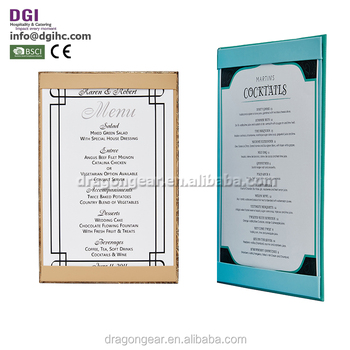 Restaurant Wine List Holder Menu Template View Menu Template