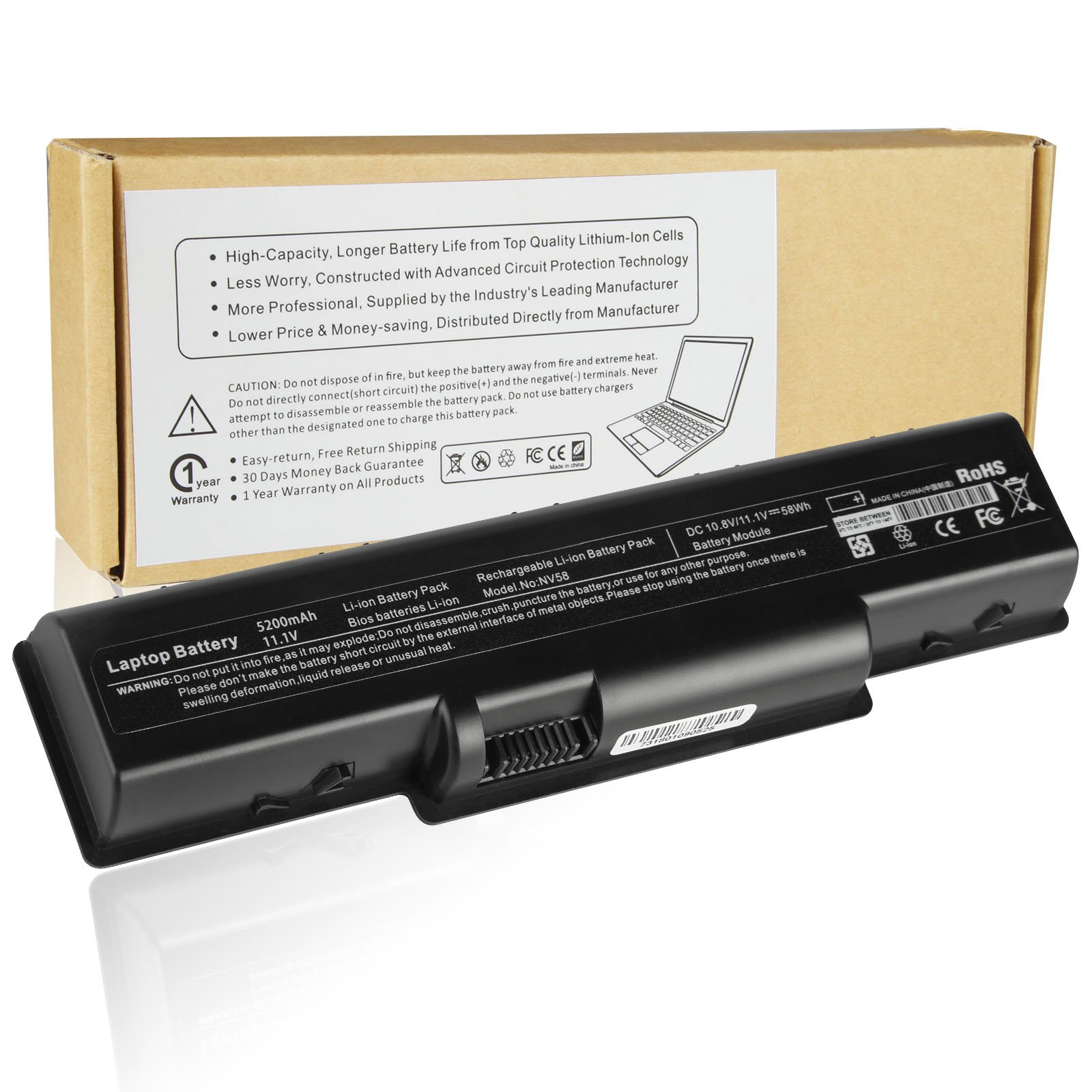 Cheap Gateway Nv58 Battery Find Deals On Line Keyboard Laptop For Acer Aspire 4732 4732z Series Emachines D725 D525 Get Quotations Futurebatt 5200mah Notebook Nv52 Nv53 Nv54 Nv56 Nv5211u