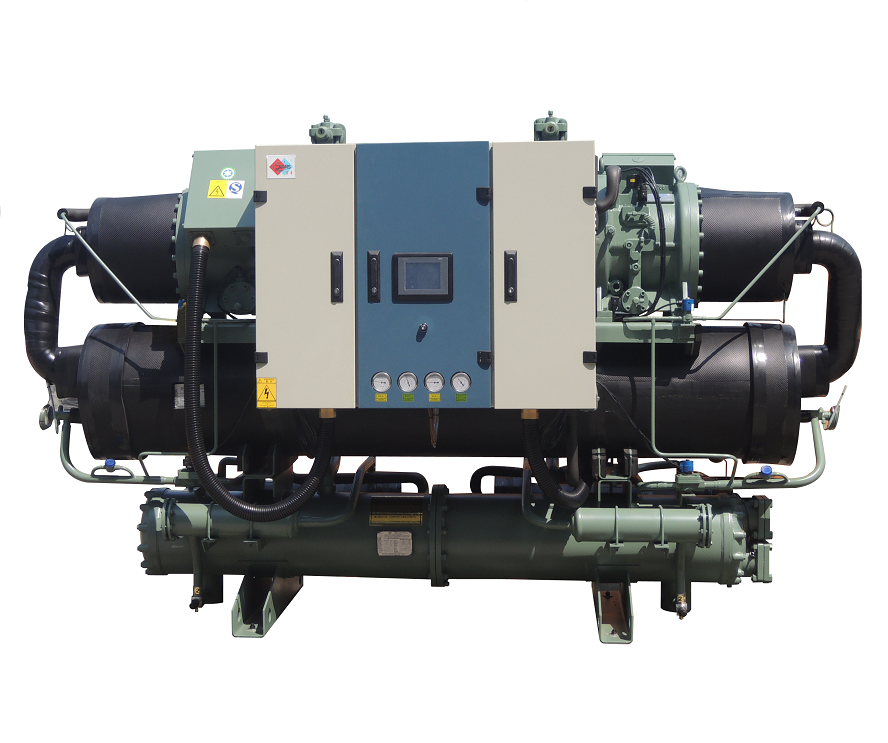 screw compressor with heat recovery chiller
