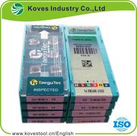 TAEGUTEC brand original aluminium hard alloy turning inserts CCGT 09T302 FL K10
