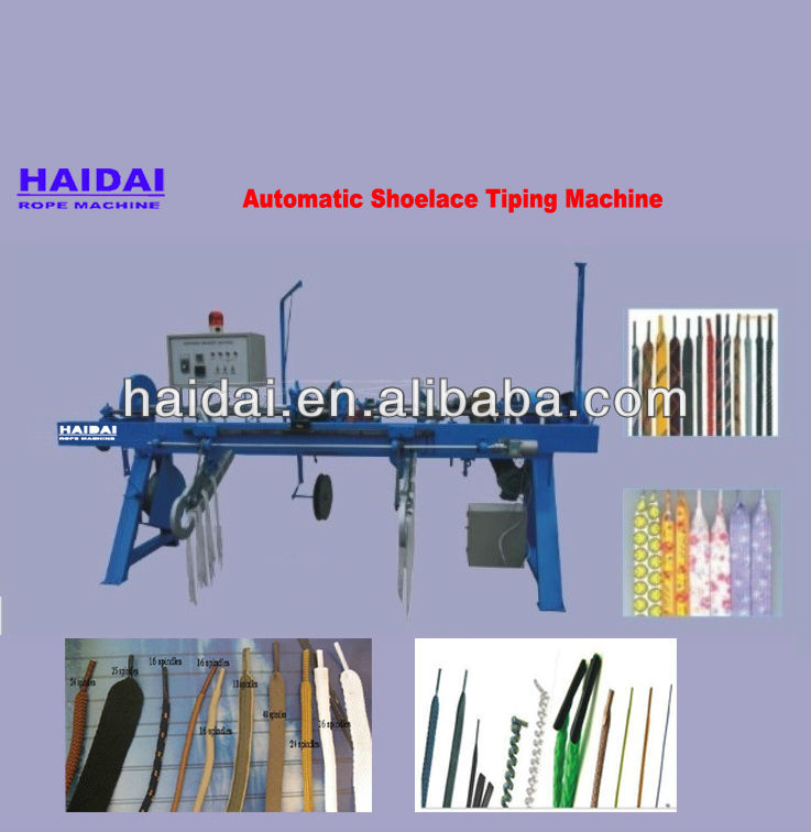 Automatic shopping bag/hand bag/handbag/rope lace maker machine
