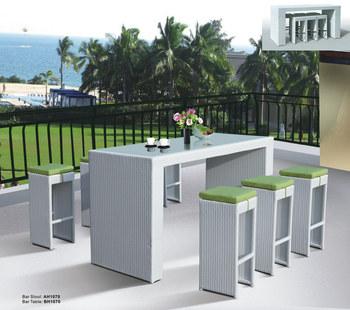 betrieb im freien barhocker und tisch buy product on. Black Bedroom Furniture Sets. Home Design Ideas