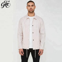 jackette for men hot selling autumn men light color cotton jacket coat 2019