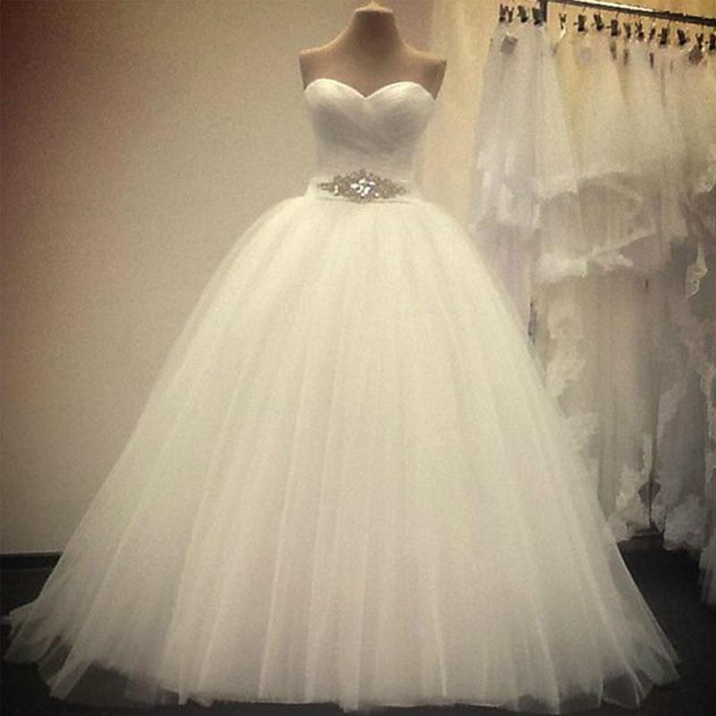 d7a8fab77 NE105 explosión modelos baratos vestidos de boda nuevo blanco Marfil cariño  sin mangas hombro vestidos