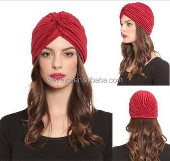 New arrival 2016 fashion muslim turban headband arabic turban hijab bandana  cap 46cb6971bd6