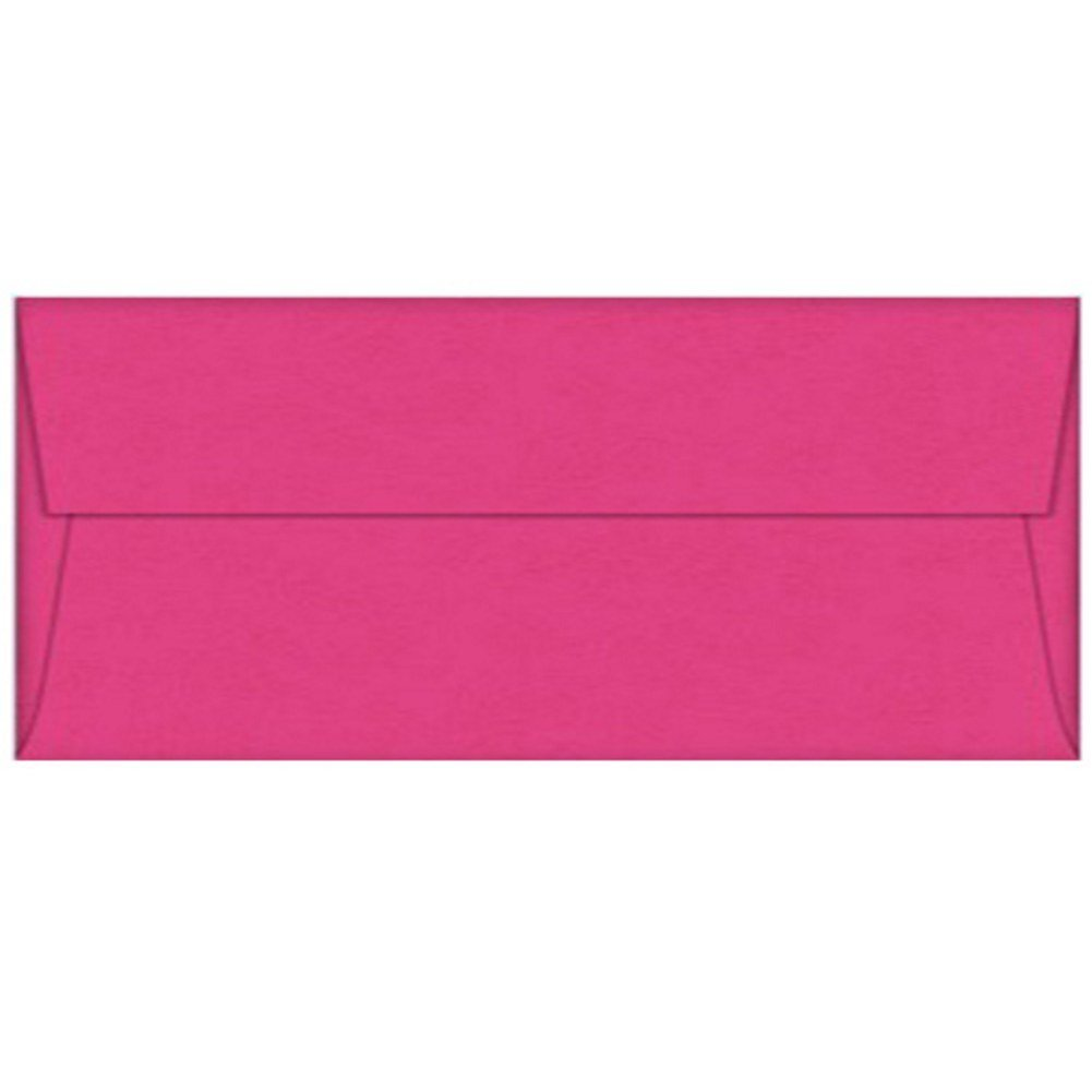 Pink Razzle Berry Envelopes - No. 10 Style - Pack of 100