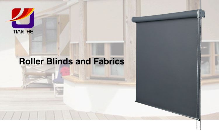 China Leverancier Hoge Kwaliteit 100% polyester jacquard blackout window roll blinds stof voor rolgordijnen