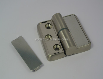 furniture hardware toilet cubicles door hinges with cover
