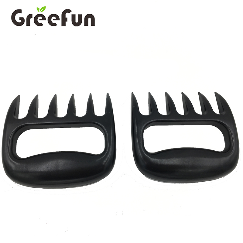 High Quality Food Safe Picnic Bear Meat Claws 2 Pcs Set, Meat Shredder Pulled Pork Claws For BBQ ,Wholesale Meat Mincer Handler