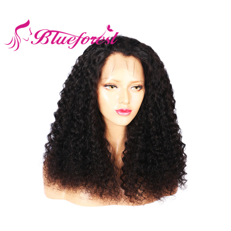 Qingdao Blueforest High Quality 14 Inch Small Cap Kinky Curly Full Lace Wig With Human Hair In Malaysia Kuala Lumpur Buy Human Hair Full Lace Wig In Malaysia Kuala Lumpur Small Cap