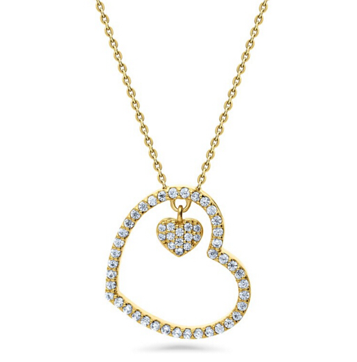 925 Silver Heart Necklace Jewelry Ali Express Wholesale