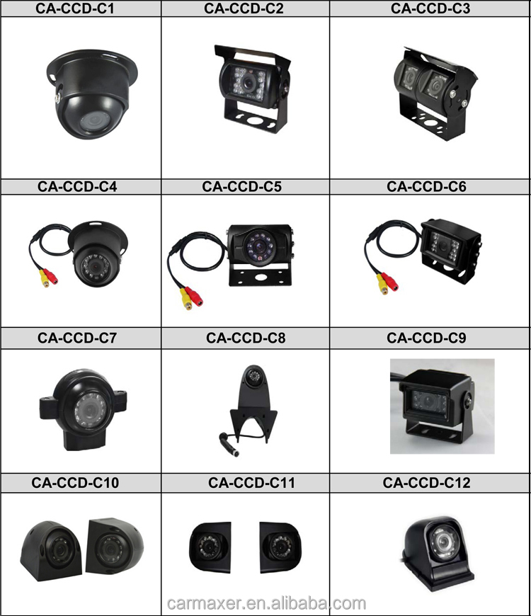 auto 4ch surveillance camera video security system