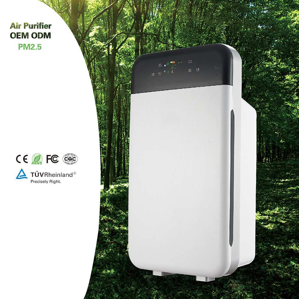 China high effective electrical power home air purifier with UV Sterilization