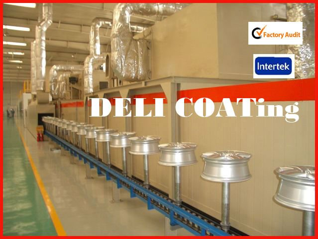 mass production Powder Coating Line-tunnel oven