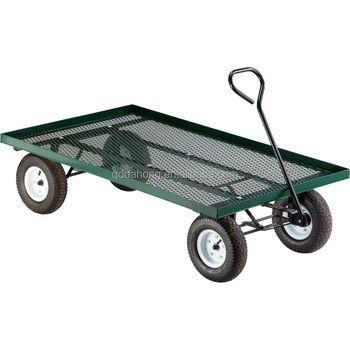 folding garden cart. Collapsible Folding Utility Wagon Garden Cart With Large Beach Tires G