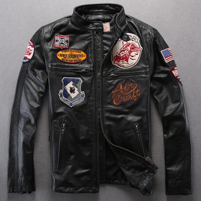 Avirex a2 leather flight jacket