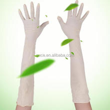 Medical Gynecological elbow lenghth extra long sleeve latex gloves