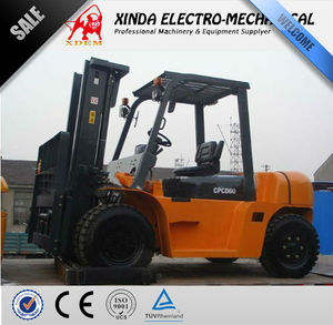 XDEM JJCC forklift 6 tons Diesel type CPCD60 Convenient Operated Stacker not Used Forklift Truck Manual