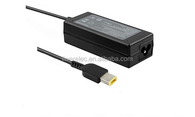 Replacement Laptop AC Charger 20V 3.25A USB Jack Ac Adapter for Lenovo