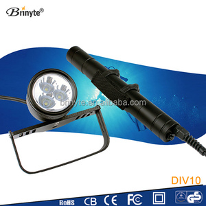 Brinyte Underwater LED Dive Lights and Torches for Scuba Divers