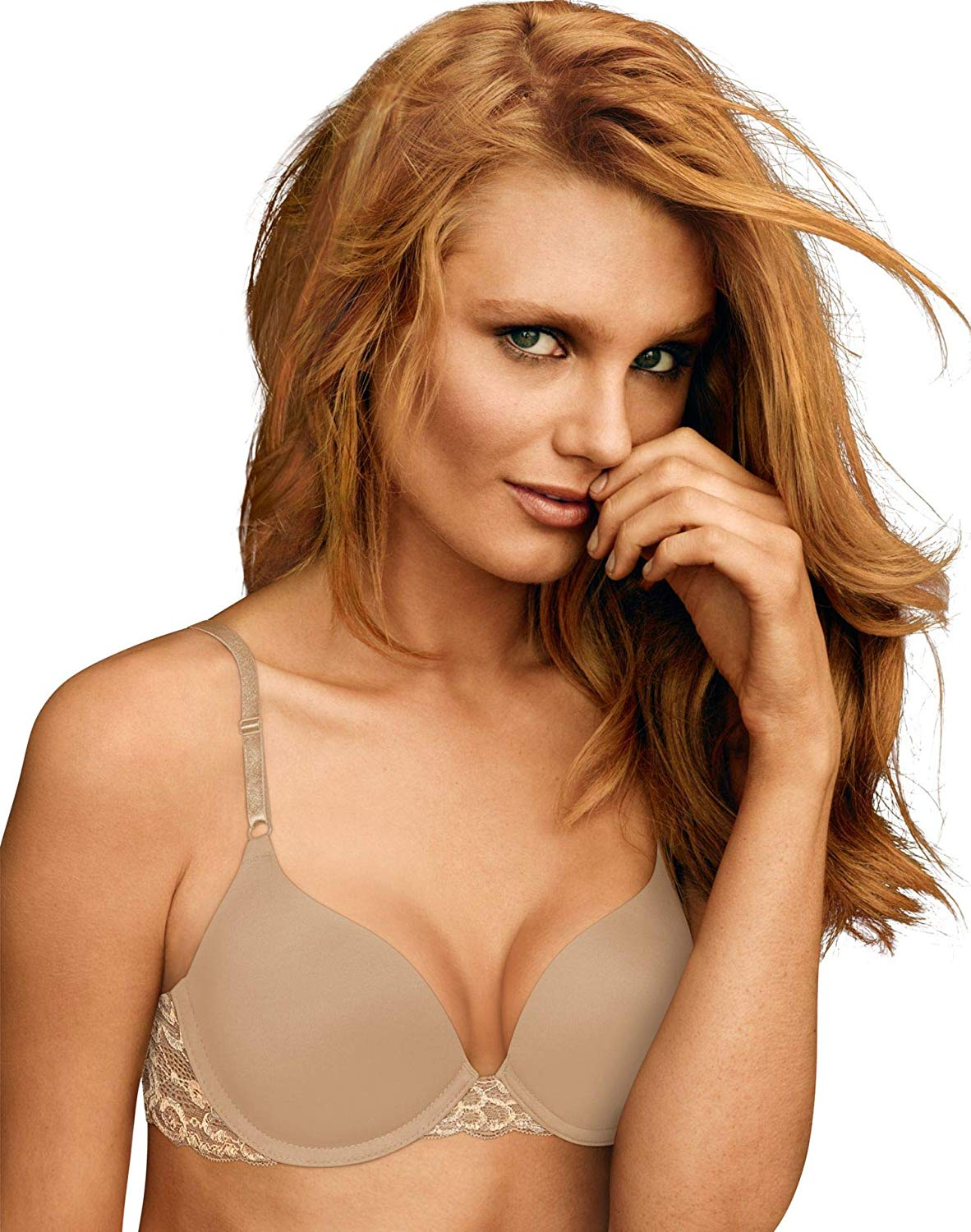 003df75ff828b Get Quotations · Maidenform Womens One Fab Fit Push Up Bra 2-Pack