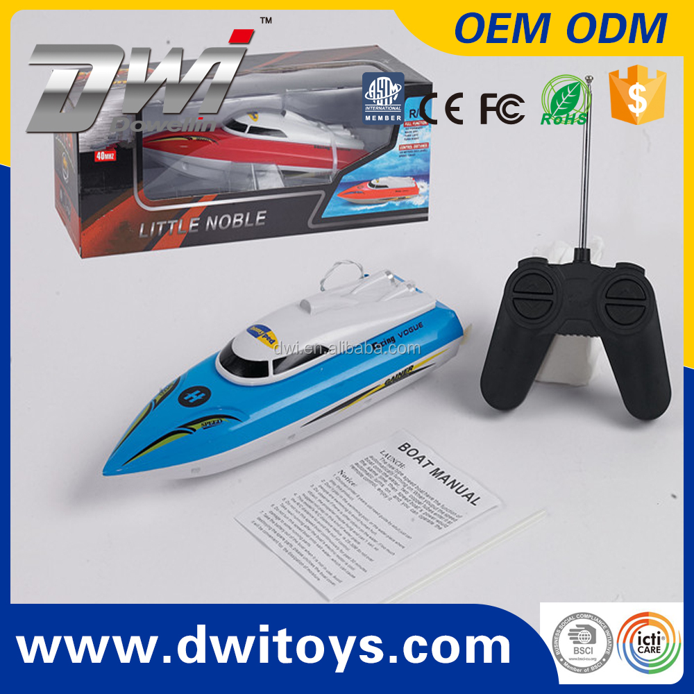 DWI-2011-15 RC Boat 4CH High Speed 25km/h Remote Control Outdoor kids electric boat mini boat for kids