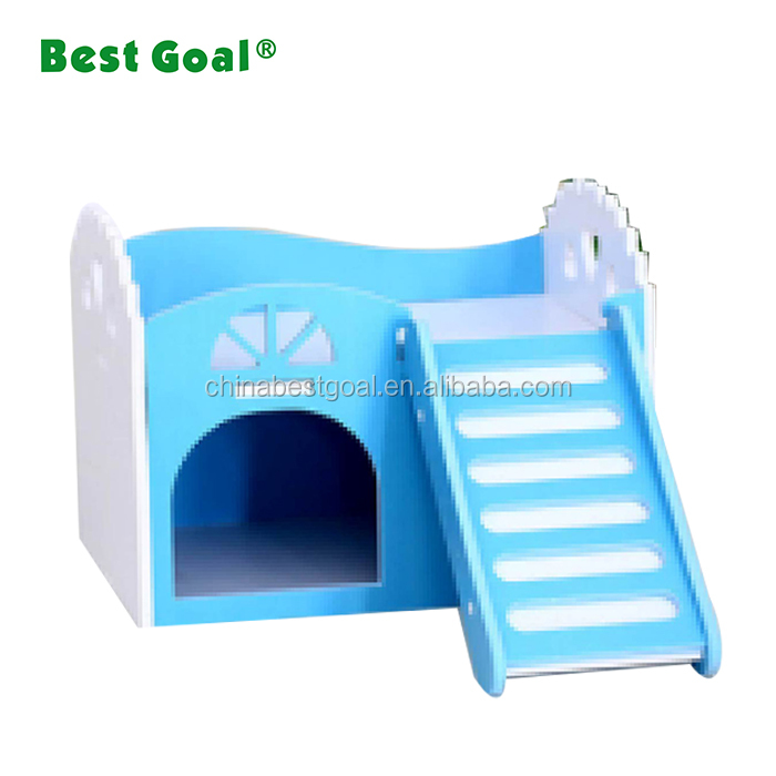 Small animal wooden ceramic hamster house nest
