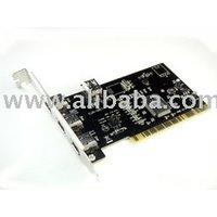 Firewire IEEE 1394 4-Port PCI Card
