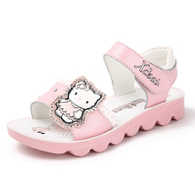 The New Hello Kitty Children s Fashion Sandals Girls Sandals Princess Shoes
