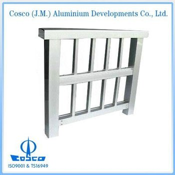 Powder coating Aluminium railings and handrails