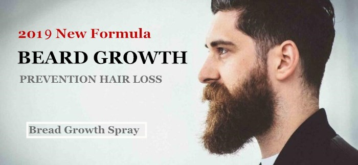 Private label beard fast growth oil bottle