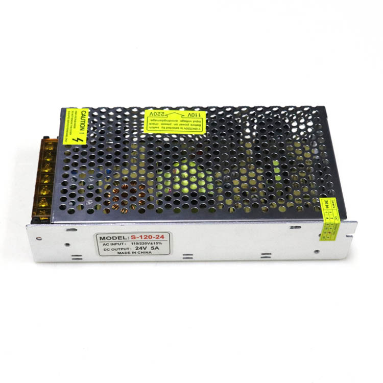 120W 24V 5A Switching Power Supply in china