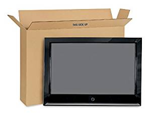"""Flat Screen TV Moving Box - Sizes: From 38"""" To 47"""" TVs"""