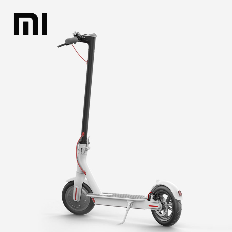 36 V Voltage And CE Certification Original Xiaomi scooter, Folding Kick Skateboard 8 inch Hoverboard Xiaomi mijia m365 Scooter, White / black (optional)