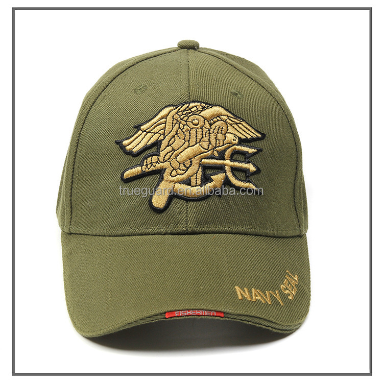 Rapiddominance Navy Seals The Legend Olive Drab Military <strong>Cap</strong>