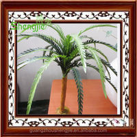 Artificial decorative palm trees/ high imitation mini cocount palm tree