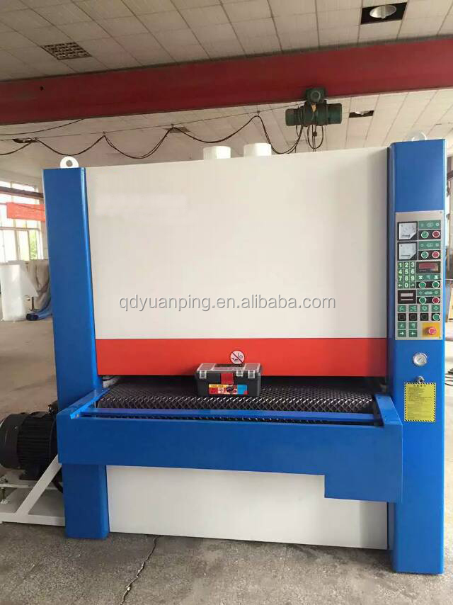 MM5313R-R-RP 3 heads single side Wide belt sanding machine