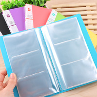 Wholesale pack of 25 plastic clear brand business card folder binder holder pages