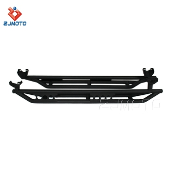 Factory Wholesale New Steel Side Armor Nerf Bars For 2007-2018 Jeep JK Wrangler Unlimited Rubicon 4 Door