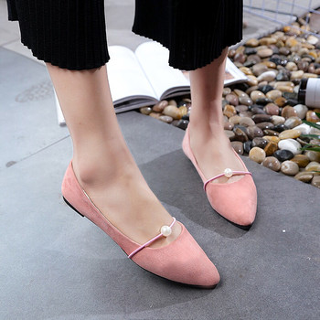 China latest fashion cheap comfortable ladies flat women shoes